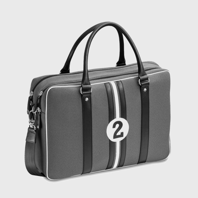 sac-ordi-15-pouces-gris-noir-blanc-tissu-et-cuir