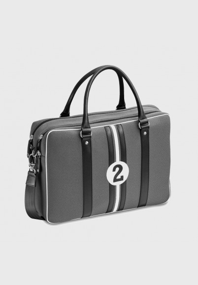 Grey 15 inches laptop bag...