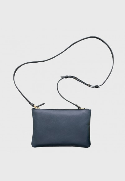 Rita leather shoulder bag