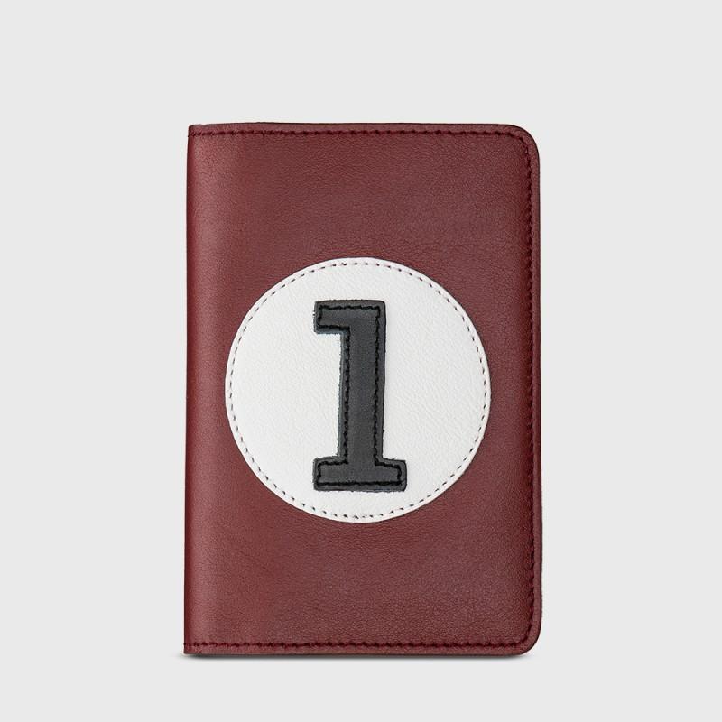 Portefeuille et porte monnaie bordeaux CBR1
