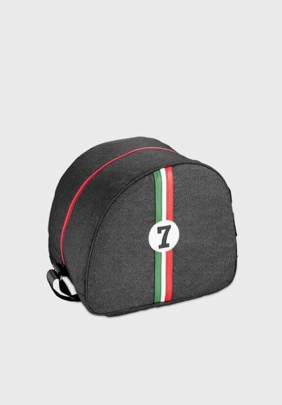 Italian pilote helmet bag...