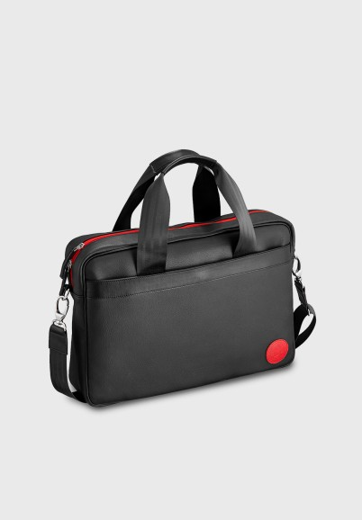 Black computer bag for men...