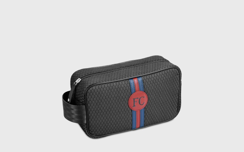 Personalized wash bag for man