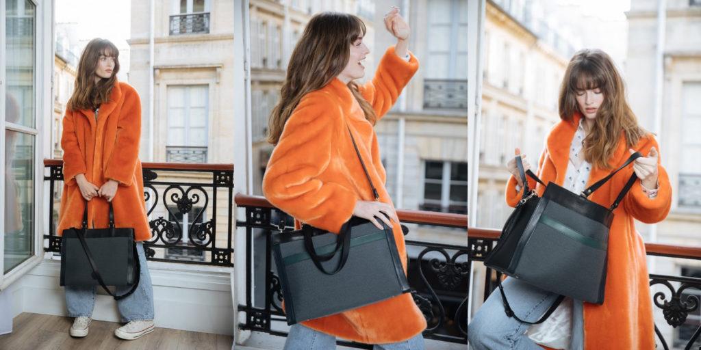 Suzi: the handbag that can hold a computer