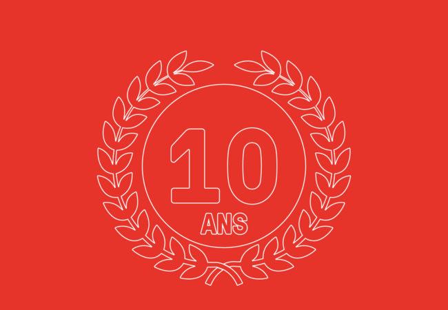 10 years already!